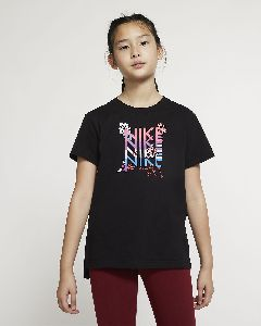 Girls Round Neck T-Shirt