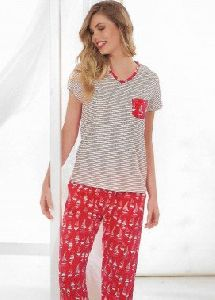 Ladies Night Pajama Set
