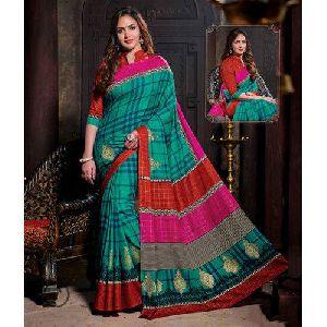 Semi Tussar Silk Saree