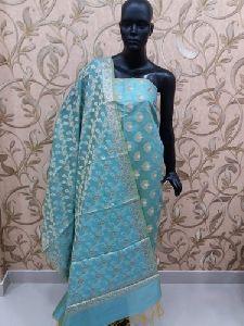 Banarasi Silk Dress Material