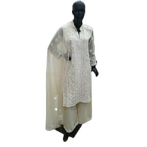 Designer Chikankari Suits
