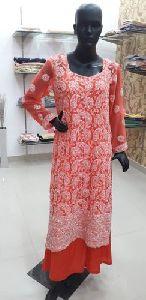 Georgette Chikankari Suit