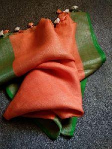 Plain Linen Dupatta
