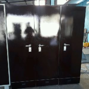Three Door Steel Cupboard