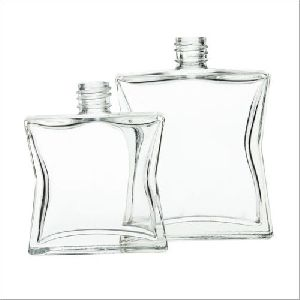 Square Perfume Glass Bottle