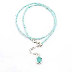 Amazonite Beads Necklace