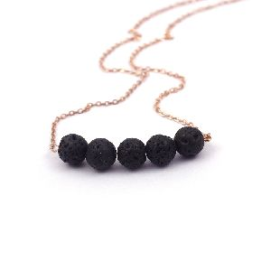 Lava Gemstone Necklace