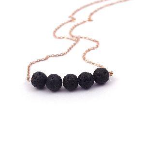 Lava Gemstone Necklace
