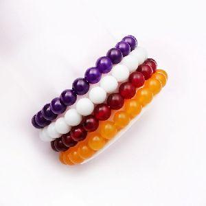 Multicolor Jade Bracelet