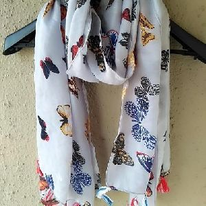 Ladies Printed Casual Scarf