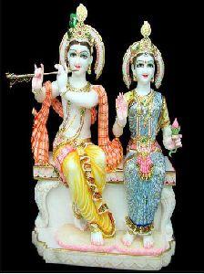 White Marble Baba Balak Nath Statue