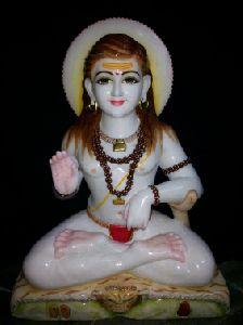 White Marble Balak Nath Statue