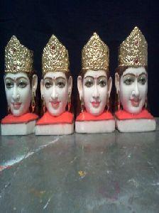 White Marble Khatu Shyam Statue