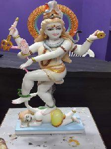 White Marble Nataraj Statue