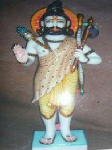 White Marble Parshuram Statue