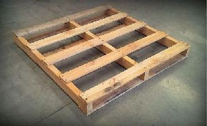 2 Way Rectangular Wooden Pallet