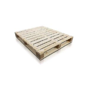 4 Way Rectangular Wooden Pallet