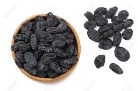 Black Dried Raisins