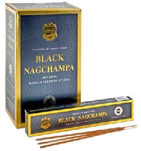 Black Nagchampa Incense Sticks