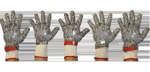 Stainless Steel Chain Mesh Gloves