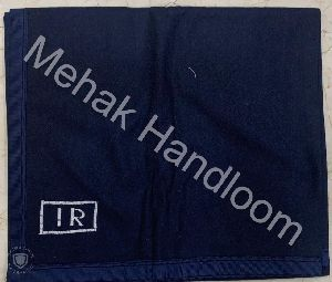 New Pattern Navy Blue Railway Blanket
