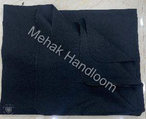 Black Non Woven Blanket