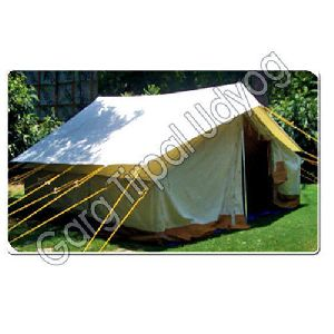 White Double Fly Tent
