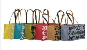 Jute Multicolor Bag