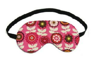 Printed Crescent Yoga Eye Pillow