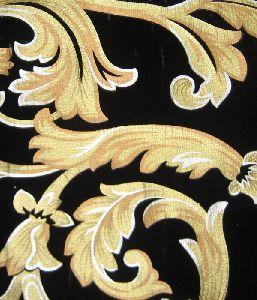 Pigment Printed Velvet Fabric