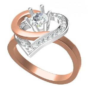 Ladies Designer Diamond Rings