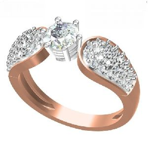 Ladies Party Wear Diamond Rings