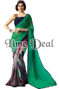Banglori Silk Georgette Saree