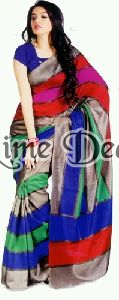 Bhagalpuri Cotton Silk Saree
