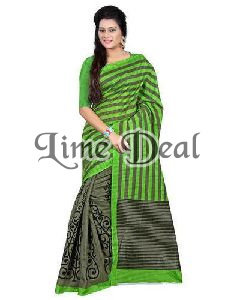 Cotton Saree with Unstitched Blouse