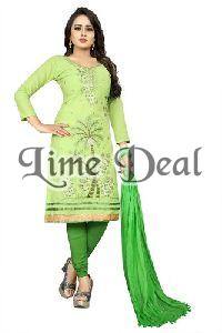Embroidered Ladies Dress Material