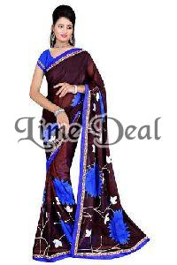 Exclusive Designer Chiffon Saree