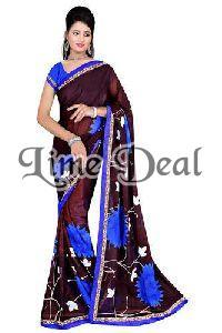 Exclusive Designer Chiffon Saree