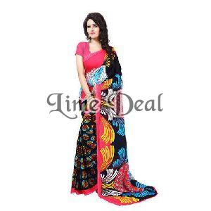 Premium Georgette Saree