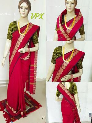 Chettinadu Cotton Sarees 20