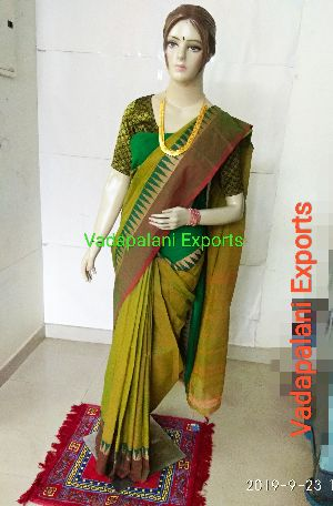 Chettinadu Cotton Sarees 23