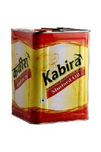 Kabira 15 Ltr Tin Mustard Oil