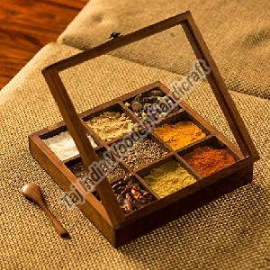 9 Container Spice Box