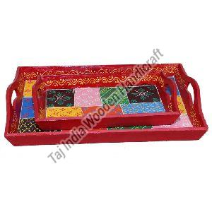 Multi Color Tray Set