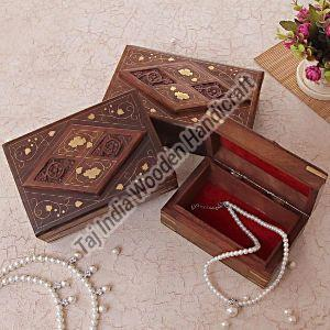 Sheesham Wood Card Box