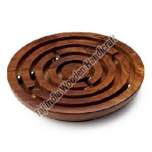 Wooden Labyrinth Board Game