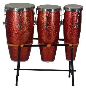 Congo Triple Drum With Stand