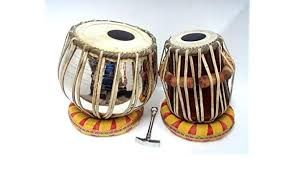 Wooden Tabla Set