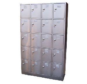 Stainless Steel 20 Drawer Locker