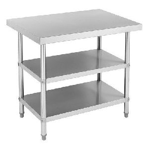 Stainless Steel Three Layer Table